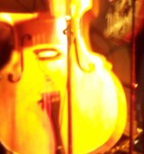 Peter Hutchinson on Double Bass playing with Acoustic Resonance