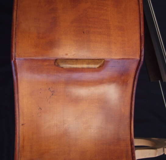 Malcolm Healey double bass side handle